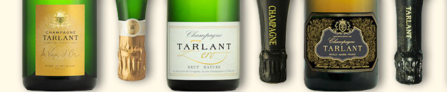 Gamme des champagnes Tarlant