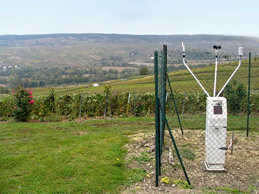 Weather station in Oeuilly